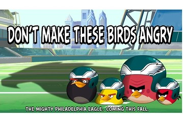 Angry Birds NFL tie-in with Philadelphia Eagles to arrive in the autumn