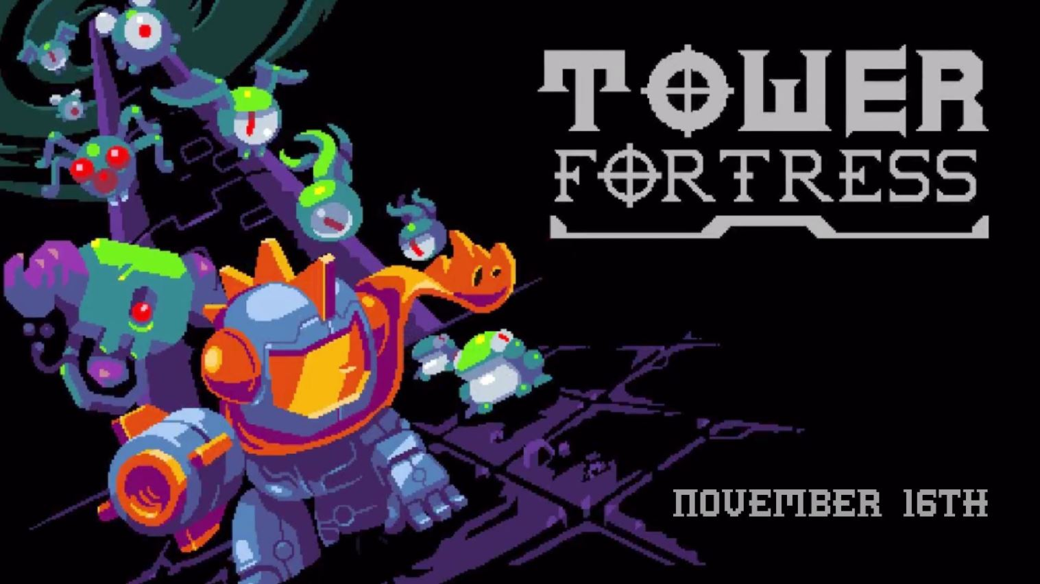 Downwell-inspired Tower Fortress arrives on iOS and Android this week