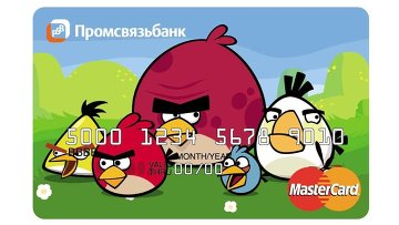 Russian bank to launch limited edition Angry Birds-branded credit card