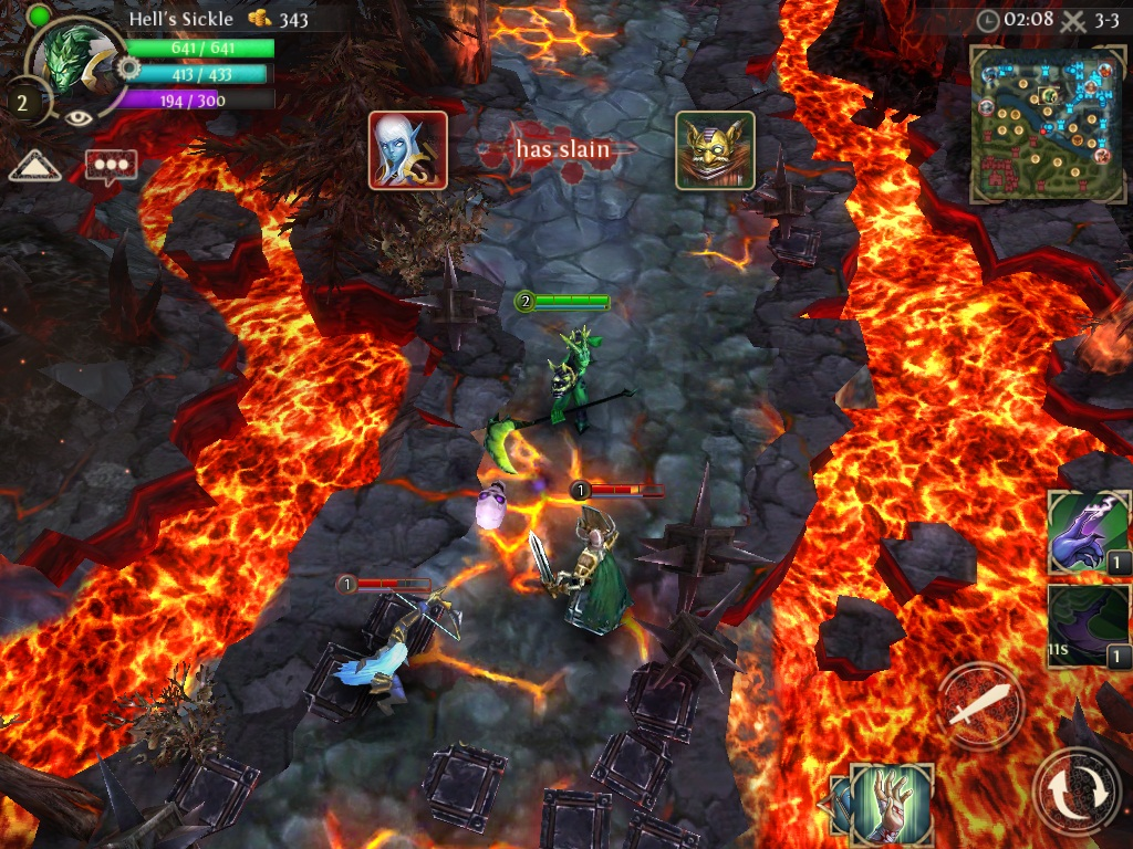 Gameloft updates Silver Award-winning MOBA Heroes of Order & Chaos with new map and heroes