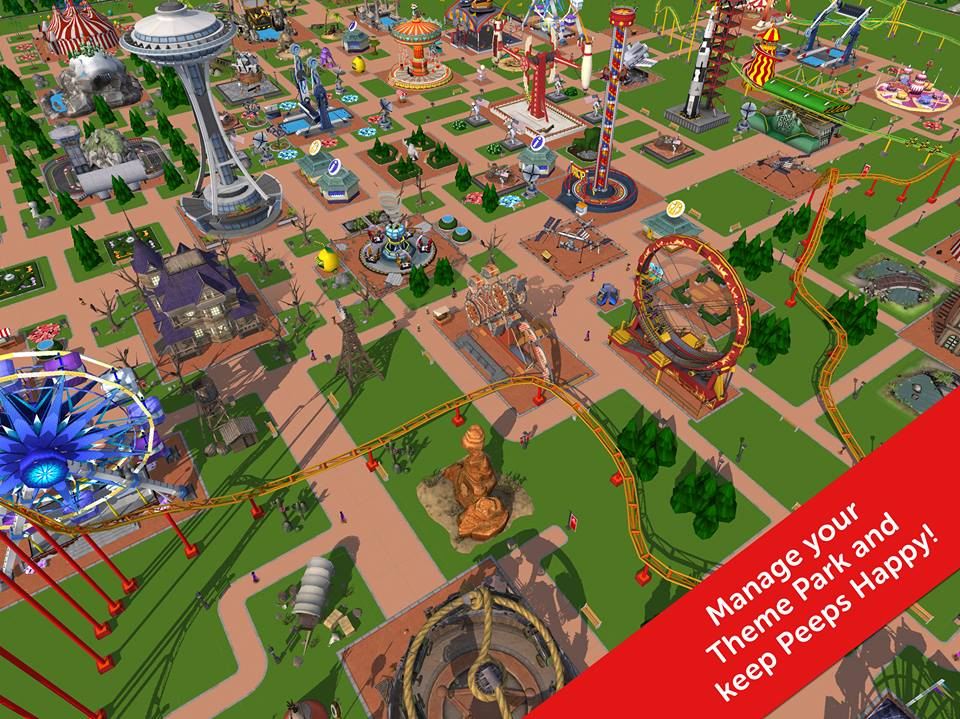 Rollercoaster Tycoon Touch is set to come to mobile in the near future