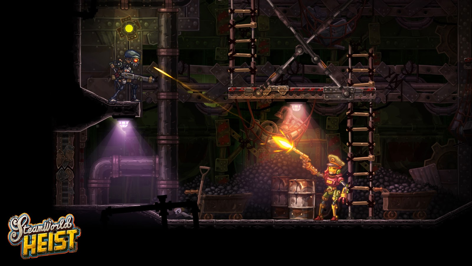Now is the perfect time to grab SteamWorld Heist while it's on sale