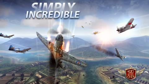 Air combat sequel Sky Gamblers: Storm Raiders dive-bombs onto iOS