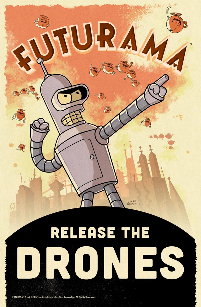 [Update] Shut up and take my free time: Match-4 FUTURAMA: Game of Drones is out now