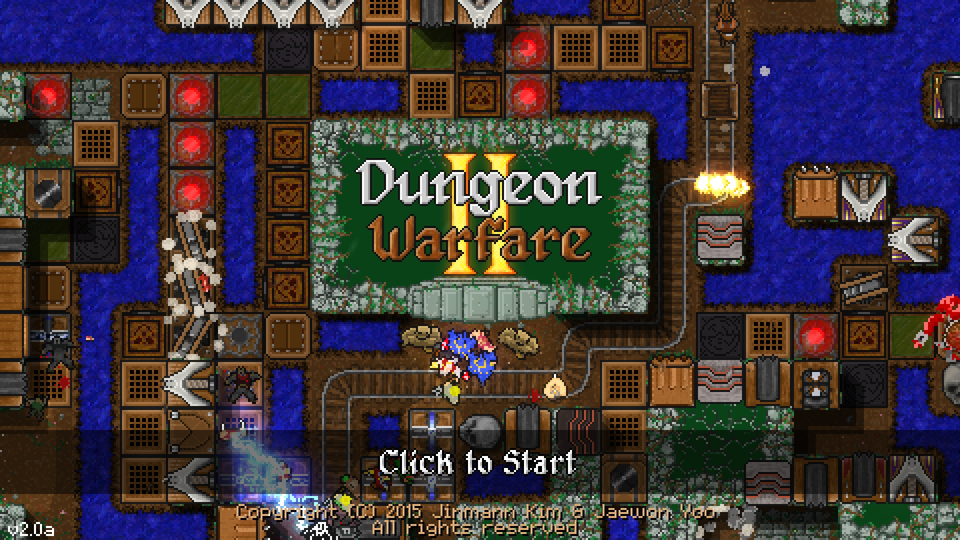 Deadly new traps and enemies await in Dungeon Warfare 2, coming later this year