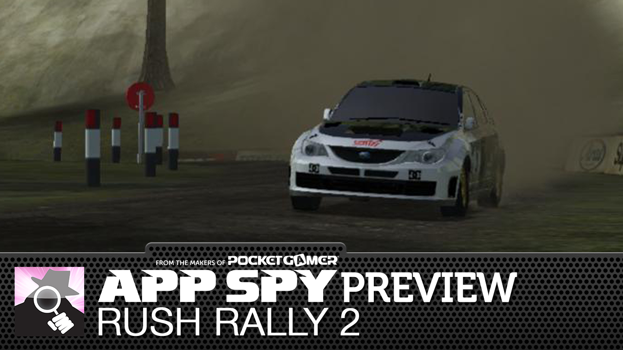 Rush Rally 2 is a visually spiffing rally racing sim coming to Android and iOS