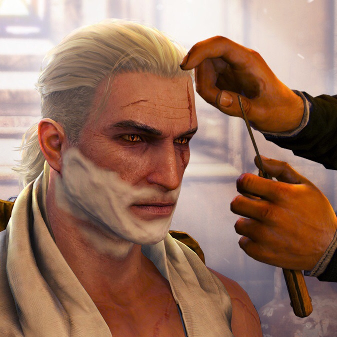 Much-anticipated Beard and Hairstyle Set hits Steam, and also some game called The Witcher 3