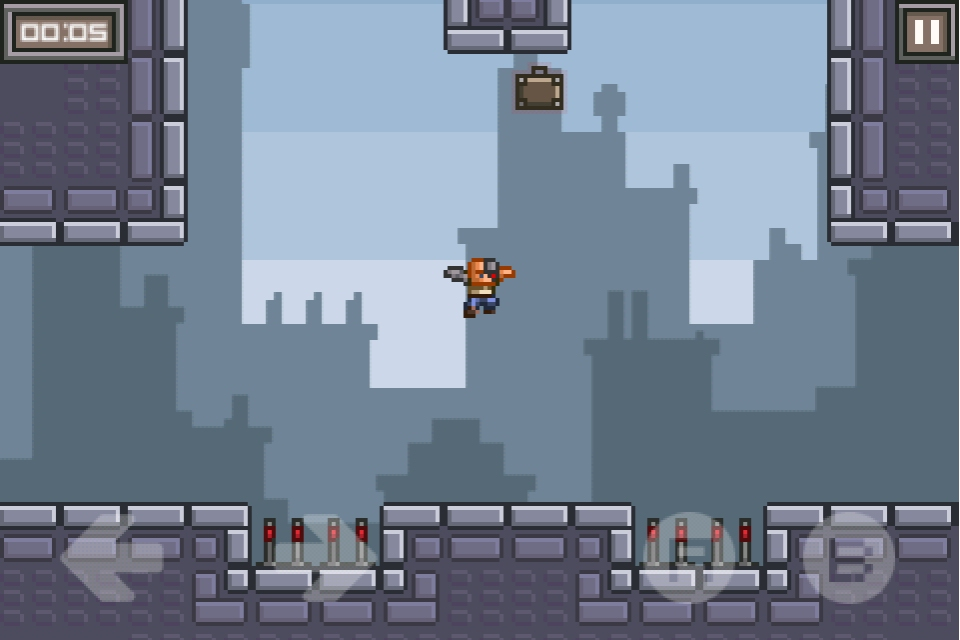 Update to pixel-art platformer League of Evil turns it into a Universal app for iPhone and iPad