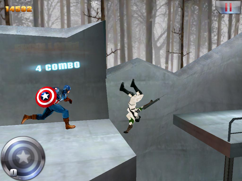 Captain America: Sentinel of Liberty out on iPhone and iPad tonight