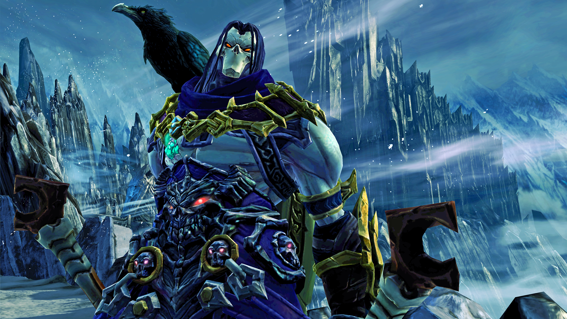 Play as Death in Darksiders II on your Android tablet via OnLive today
