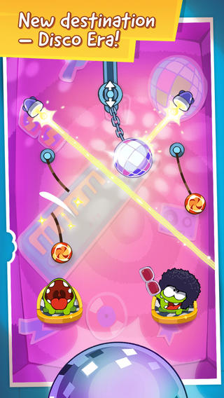 Cut The Rope: Time Travel gets groovy with new Disco Era content