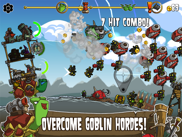 Go to war with goblins on a giant turtle covered in guns in Shellrazer for iOS