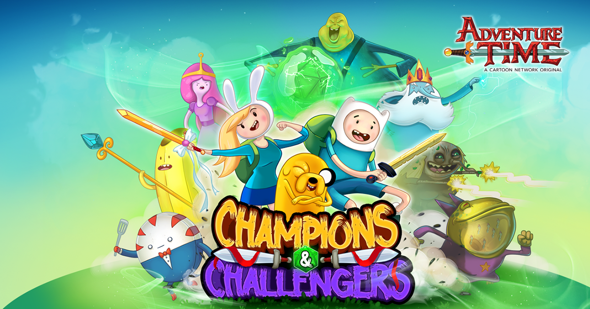 Adventure Time: Champions & Challengers is a turn-based strategic