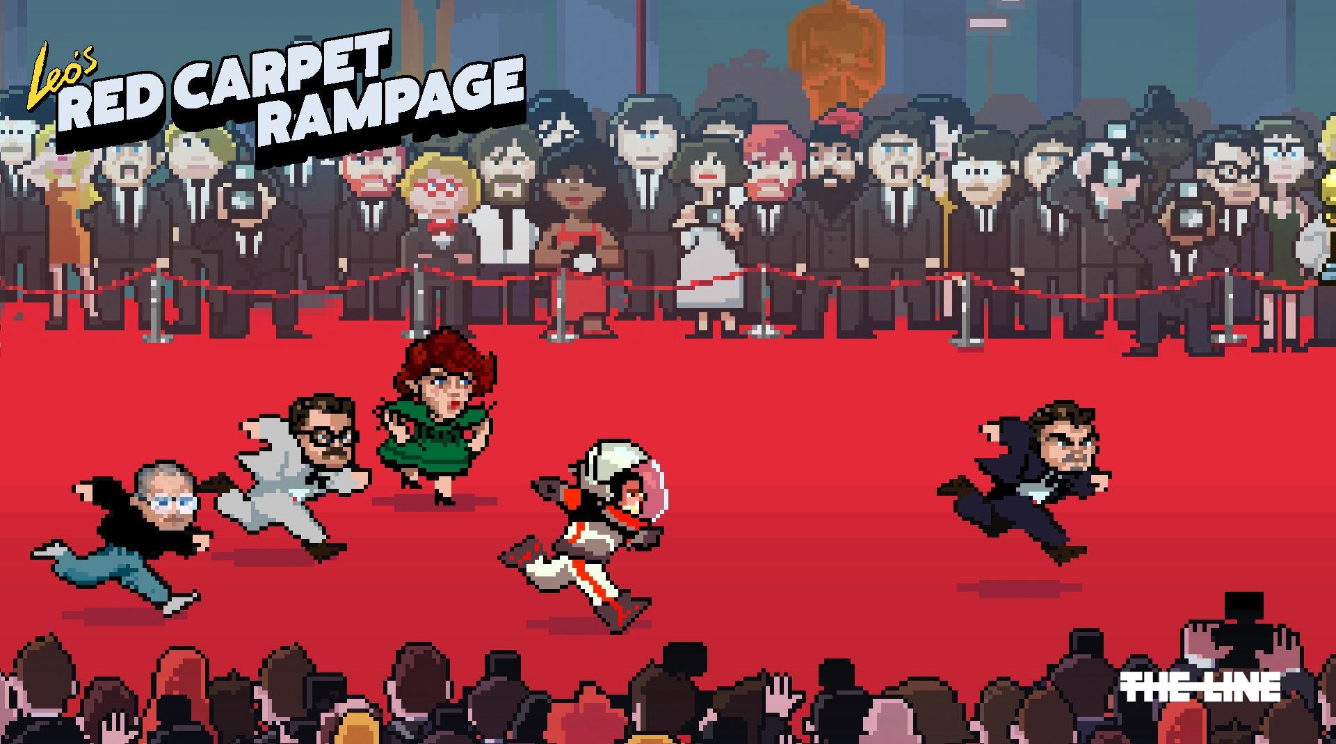 Help Leonardo DiCaprio win his first Oscar in amazingly funny web game, playable on mobile