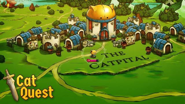 The purrfect open-world RPG, Cat Quest, arrives on iOS, Android, and Nintendo Switch this summer