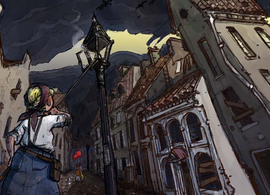 Spread happiness with balloons in steampunk adventure Rise of Balloons