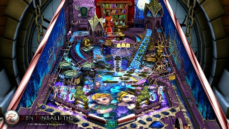 Zen Studios's graphically stunning Zen Pinball for Tegra-powered Android devices and iOS available now for free