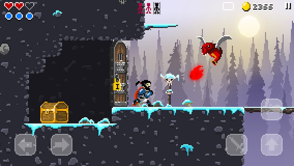 Sword of Xolan's chunky pixels and classic hack 'n' slash action hits Android [Update]