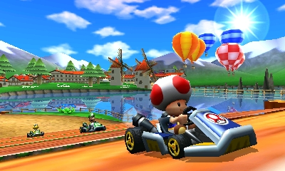 Mario Kart 7 goes on tour with Nickelodeon's Big Time Rush this summer