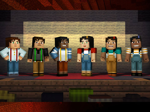 Minecraft: Story Mode Episode 1 - The Order of the Stone