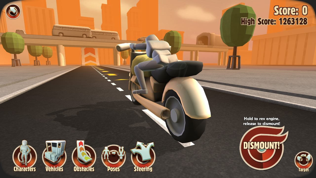 Turbo Dismount, the sort-of sequel to spine-crushing person-pusher Stair Dismount, is set to hit iPad and iPhone this Thursday