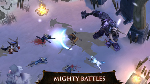 Slay waves of demons before breakfast in Dungeon Hunter 4 for Android
