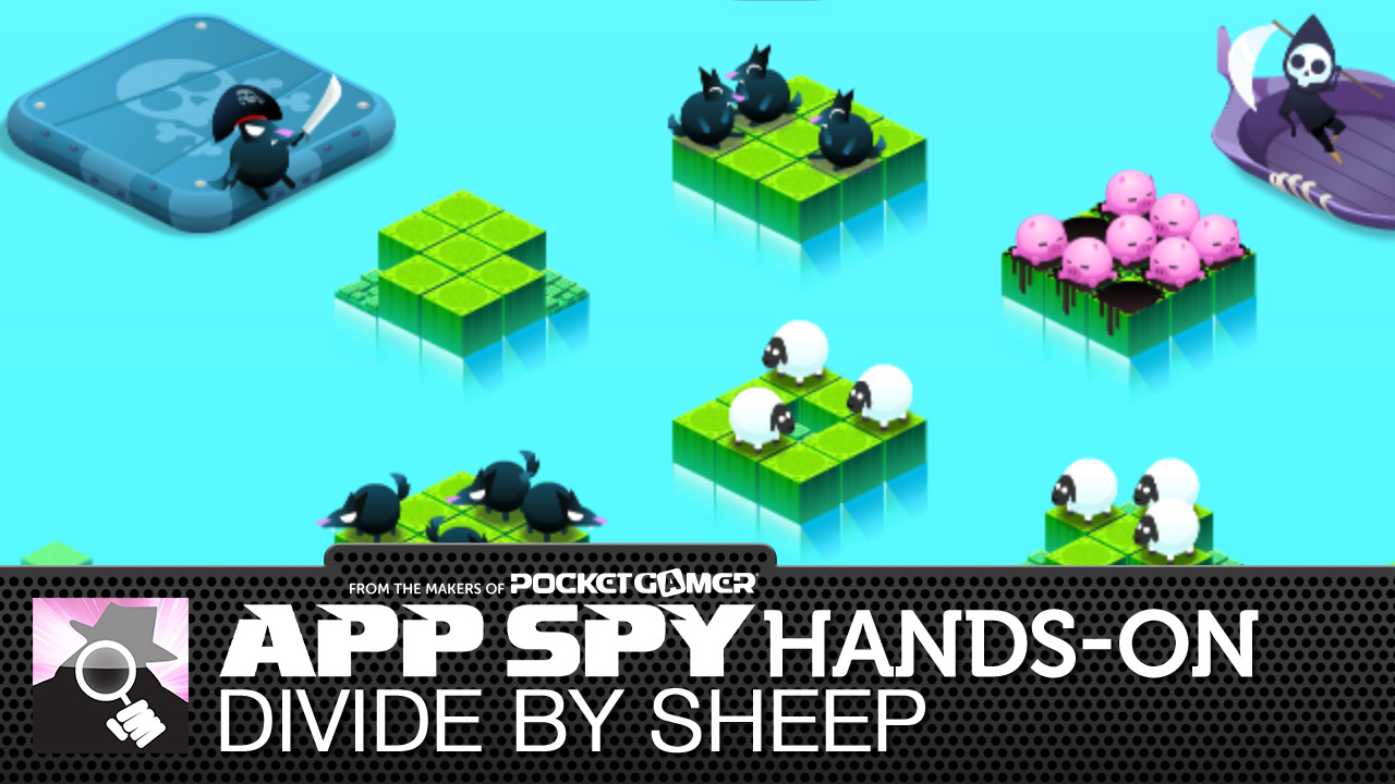 Divide by Sheep is a wool-y good new mobile puzzler...