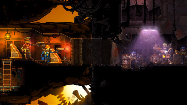 Silver-Award winning and great strategy game SteamWorld Heist gets DLC, out now