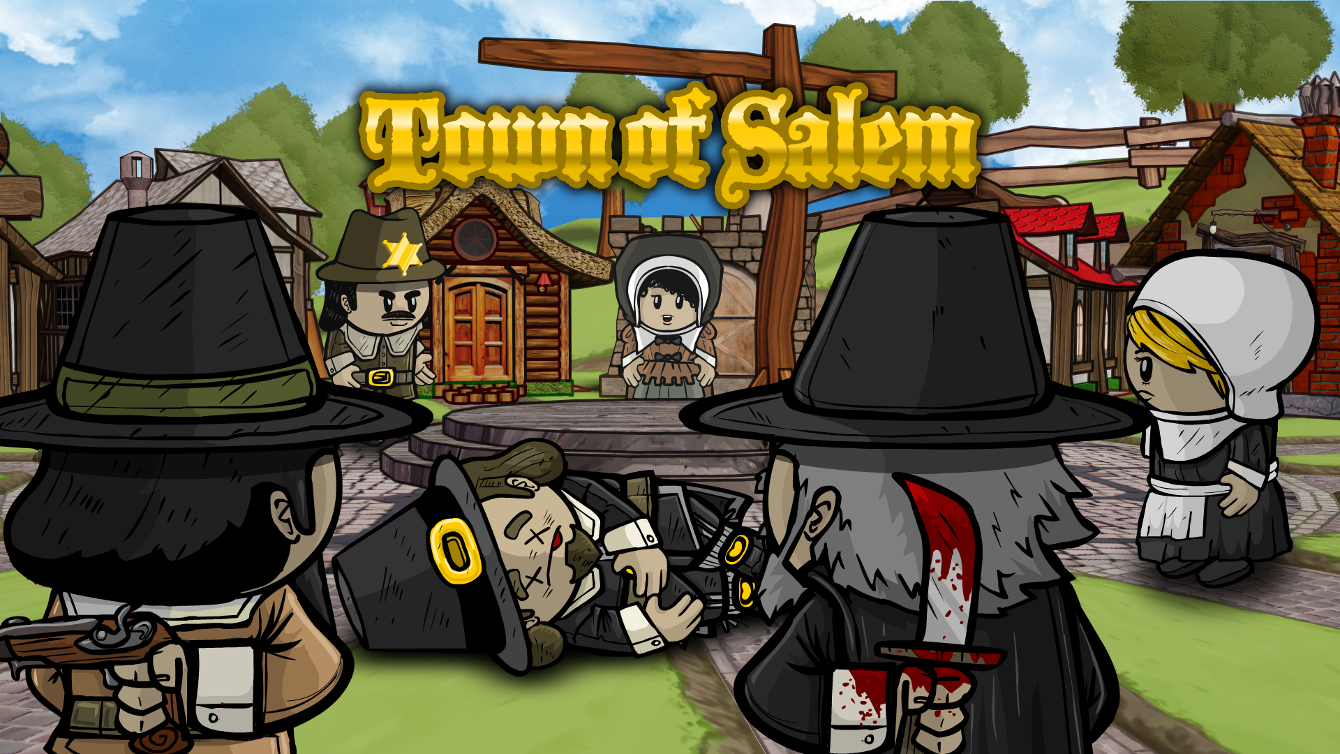 Town of Salem, a popular adaptation of the classic Werewolf