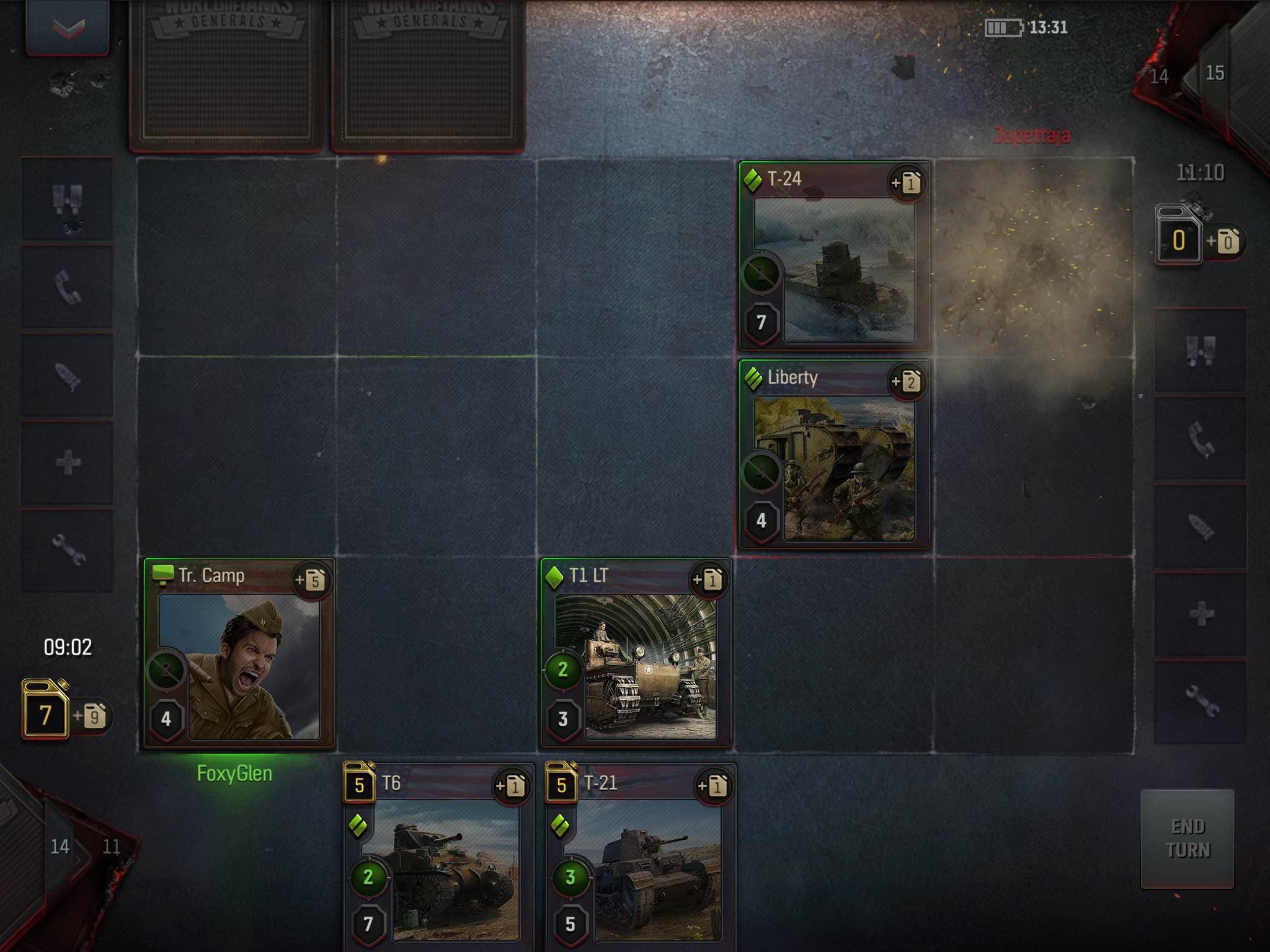 World of Tanks Generals - A surpisingly fresh card battler