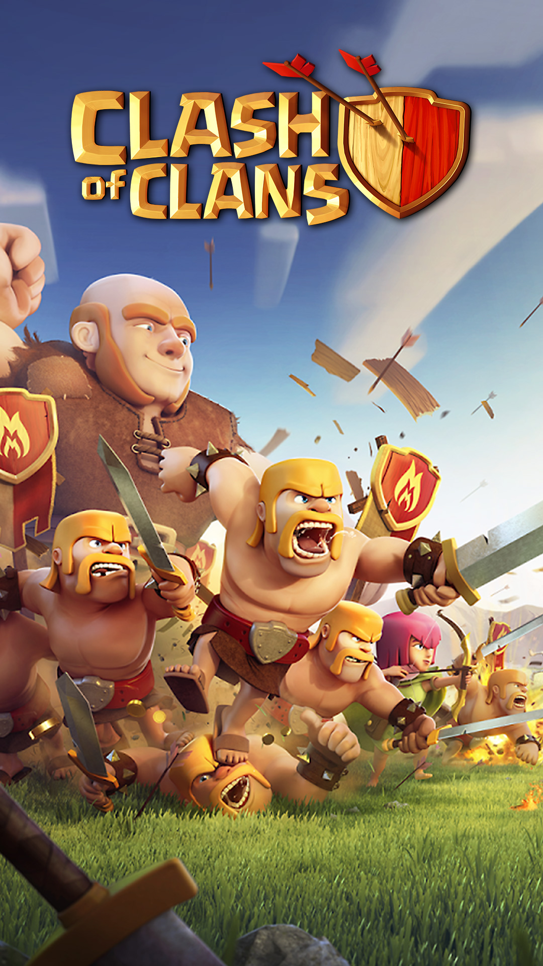 Clash Of Clans Samsung Galaxy S4 Sony Xperia Z Wallpaper