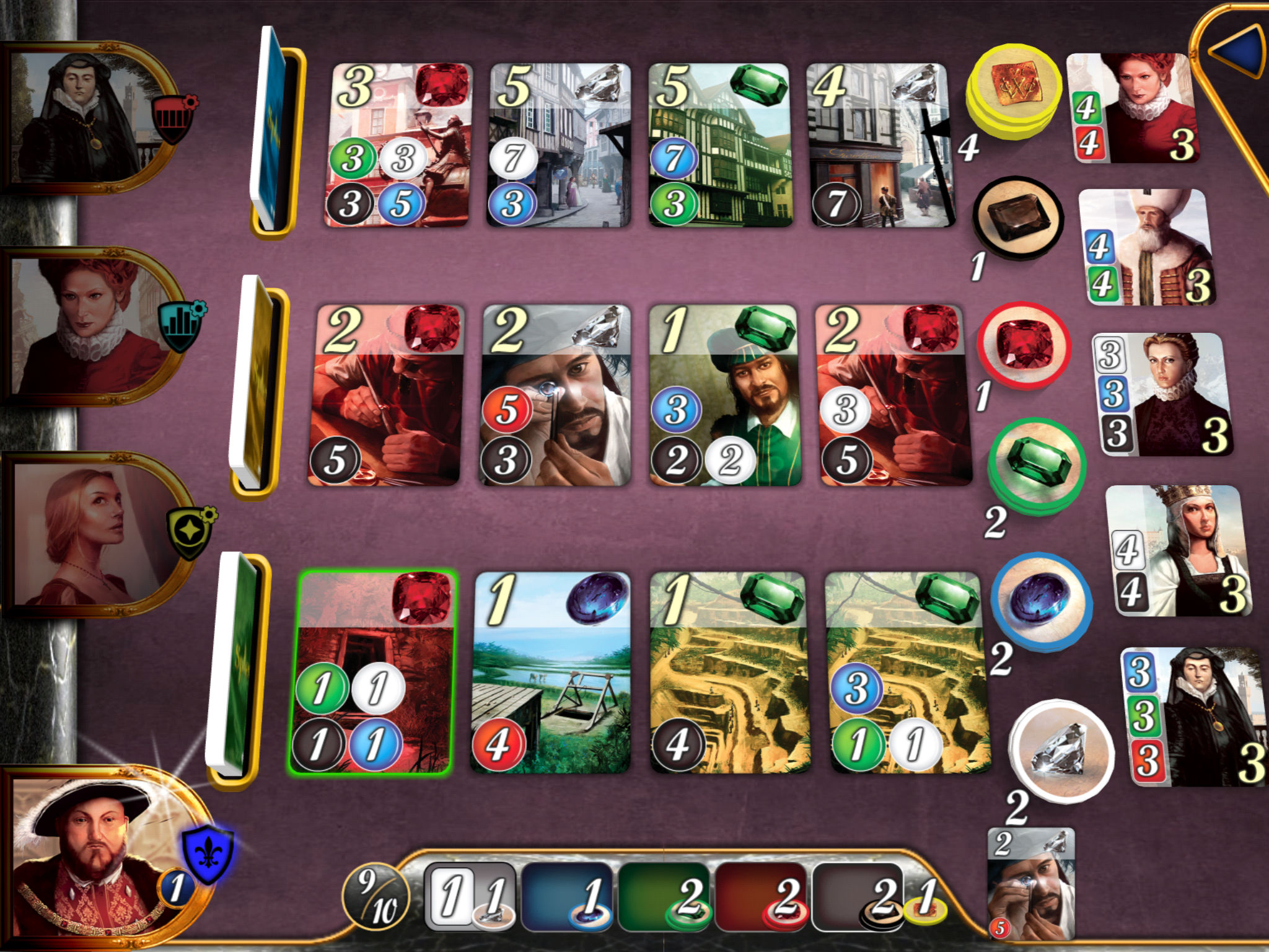 James Gilmour is streaming the Splendor expansion Strongholds from 5pm UK time