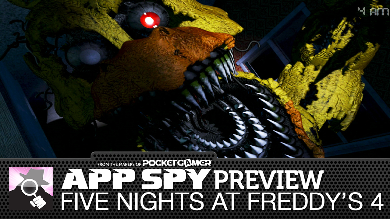 Hands-on with Five Nights at Freddy's 4 - I basically pooped my pants