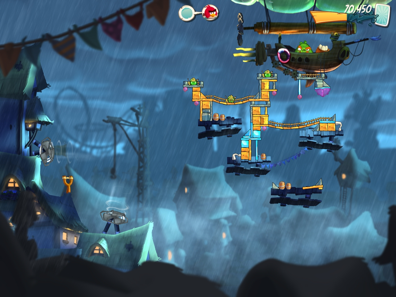 Angry Birds 2 gets its first update, with 20 new 'Pigsyland' levels