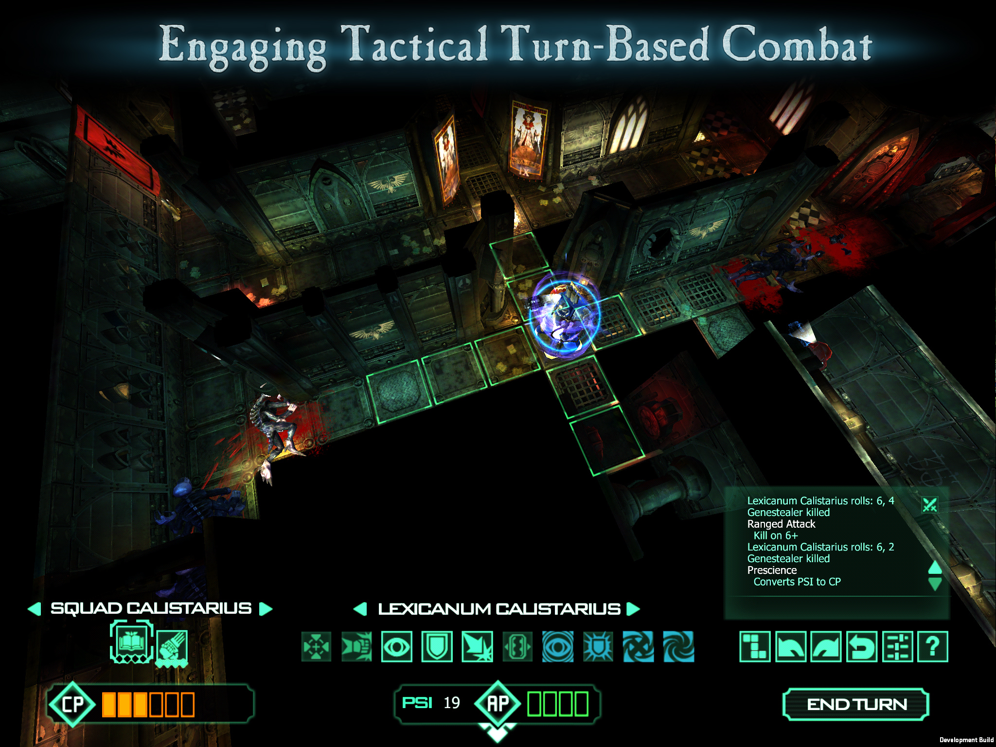 Out at midnight: Battle ferocious aliens and your friends in turn-based tactical combat in Space Hulk for iPad