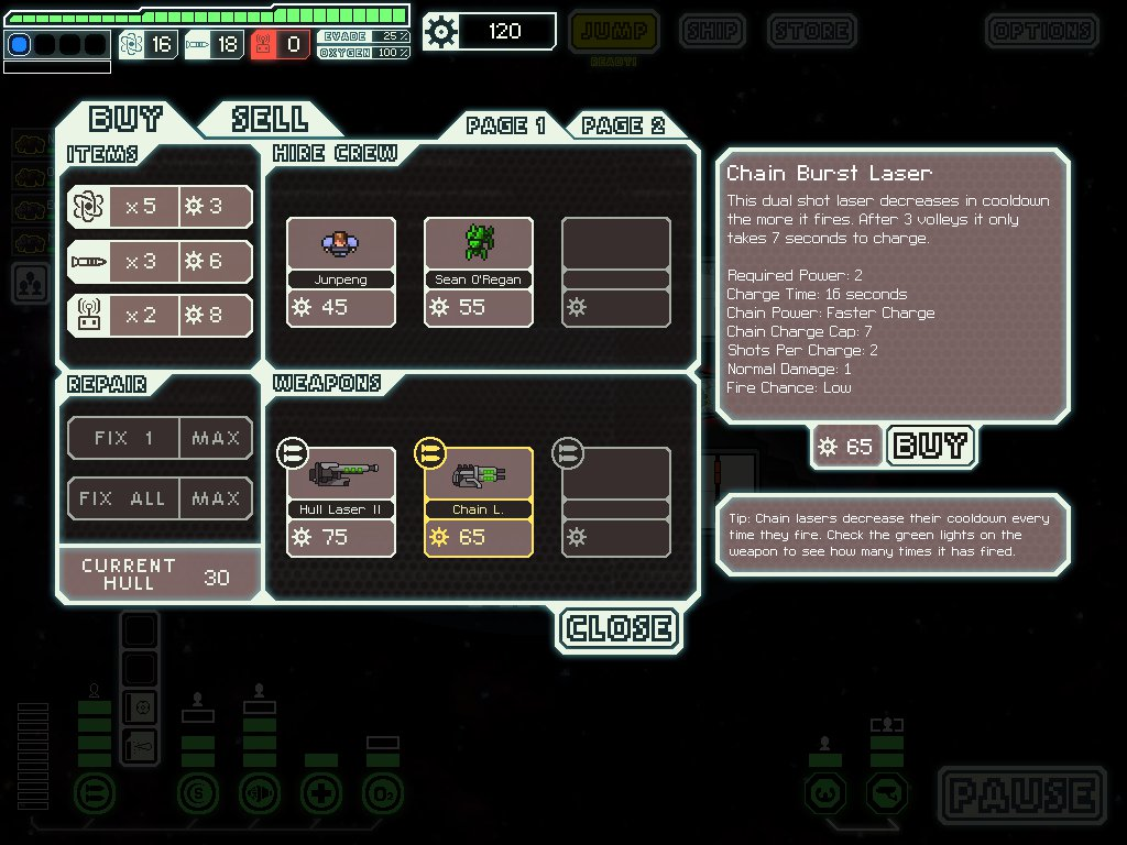 Thrilling tactical space game FTL drops to its lowest price since 2014