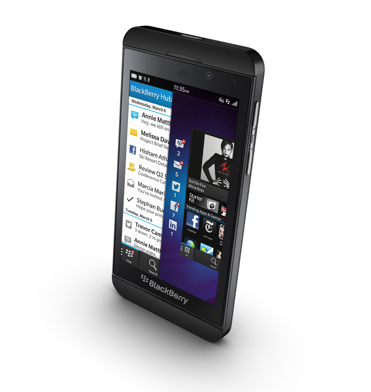 Grab the BlackBerry Z10 in the US right now for $1,000 on a $50 per month contract