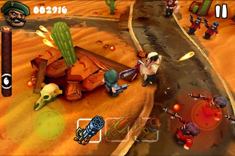 iPhone twin-stick shooter Guerrilla Bob gets wi-fi co-op multiplayer in update