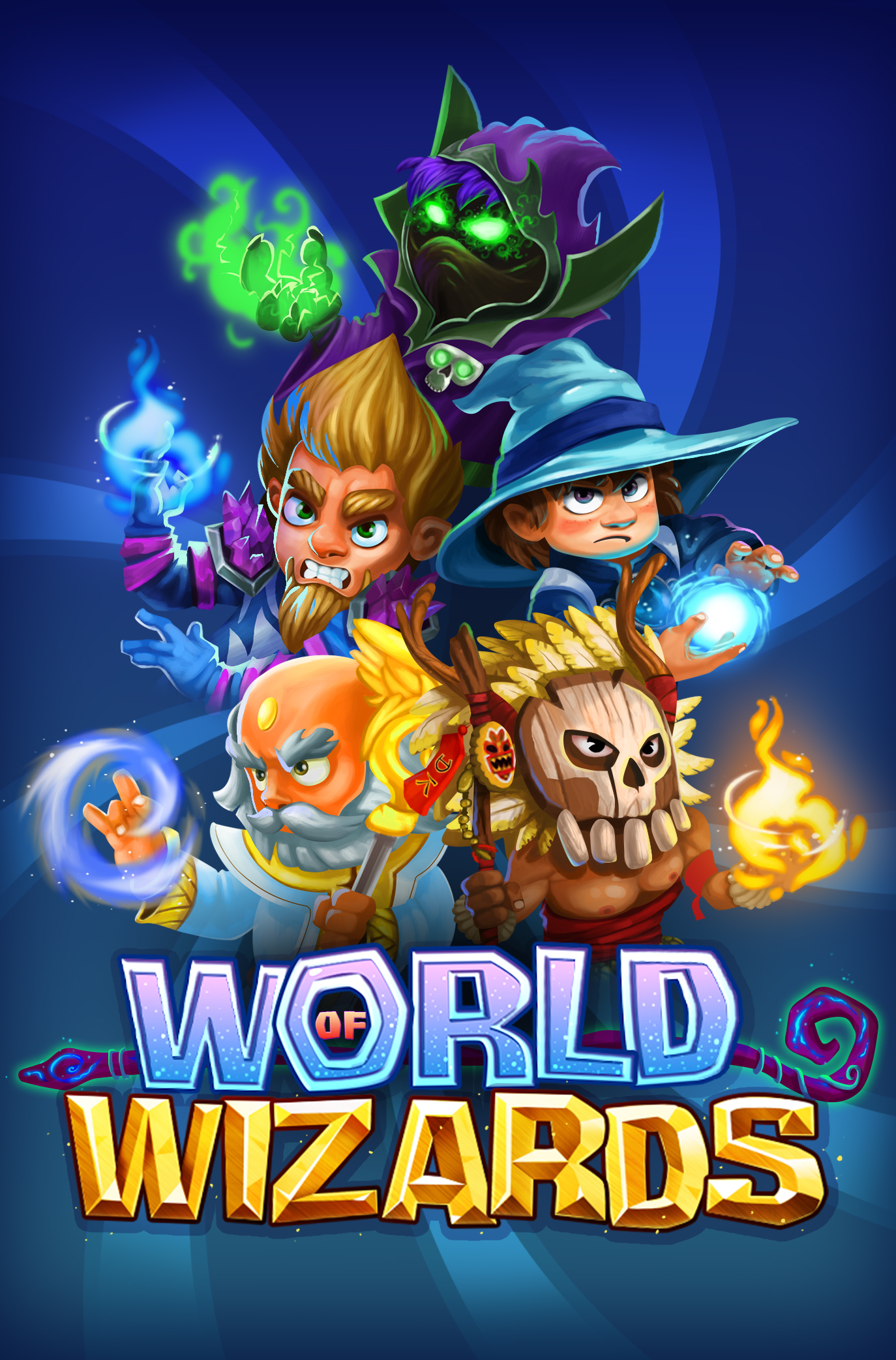 Become a powerful spellslinger in World of Wizards