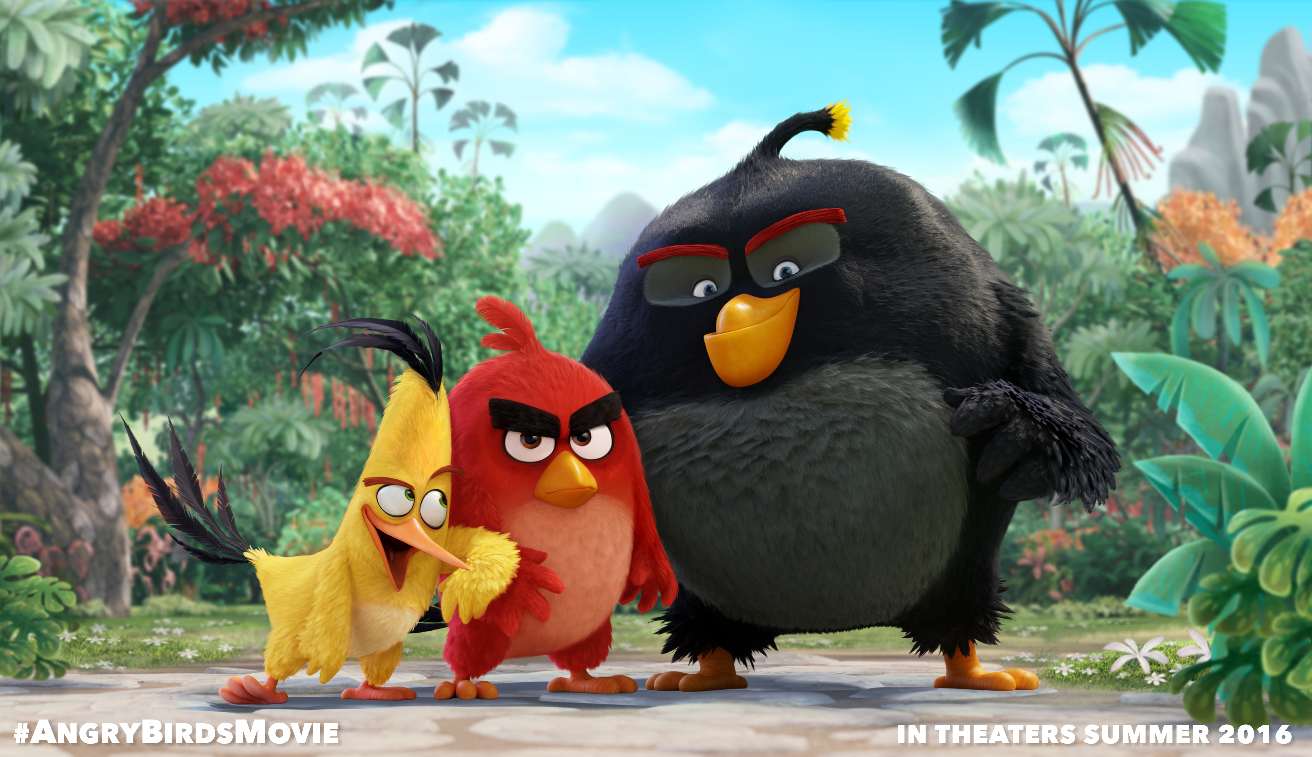 Lego Angry Birds toys are happening and will be available in spring 2016
