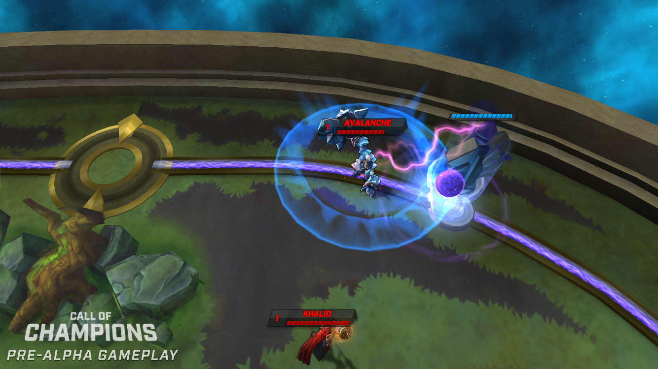 Call of Champions is a new MOBA that gets matches over in five minutes, out on iOS