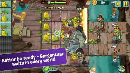 Plants vs Zombies 2: It's About Time has been updated with new levels, a new enemy, and more