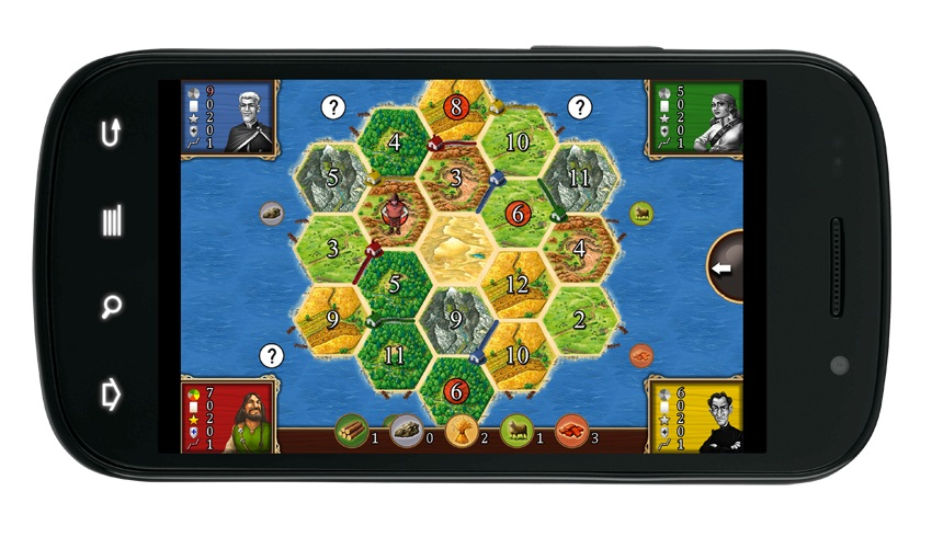 Classic boardgame Catan sails onto the Android Market