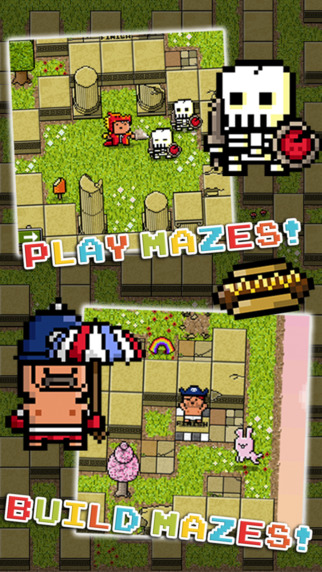 Torment your friends by building tough-as-nails mazes in Mazecraft, out on iOS