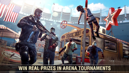 Dead Trigger 2 has been updated with a tournament mode, some new weapons, and a load more to boot on iPad and iPhone