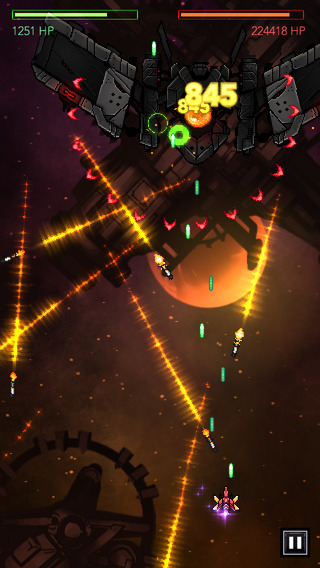 Explosive shmup RPG Gemini Strike brings bassy shooting to iOS on September 4th