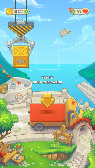 Out at midnight: Cargo King is an oddly compelling F2P physics-based crate stacking challenge