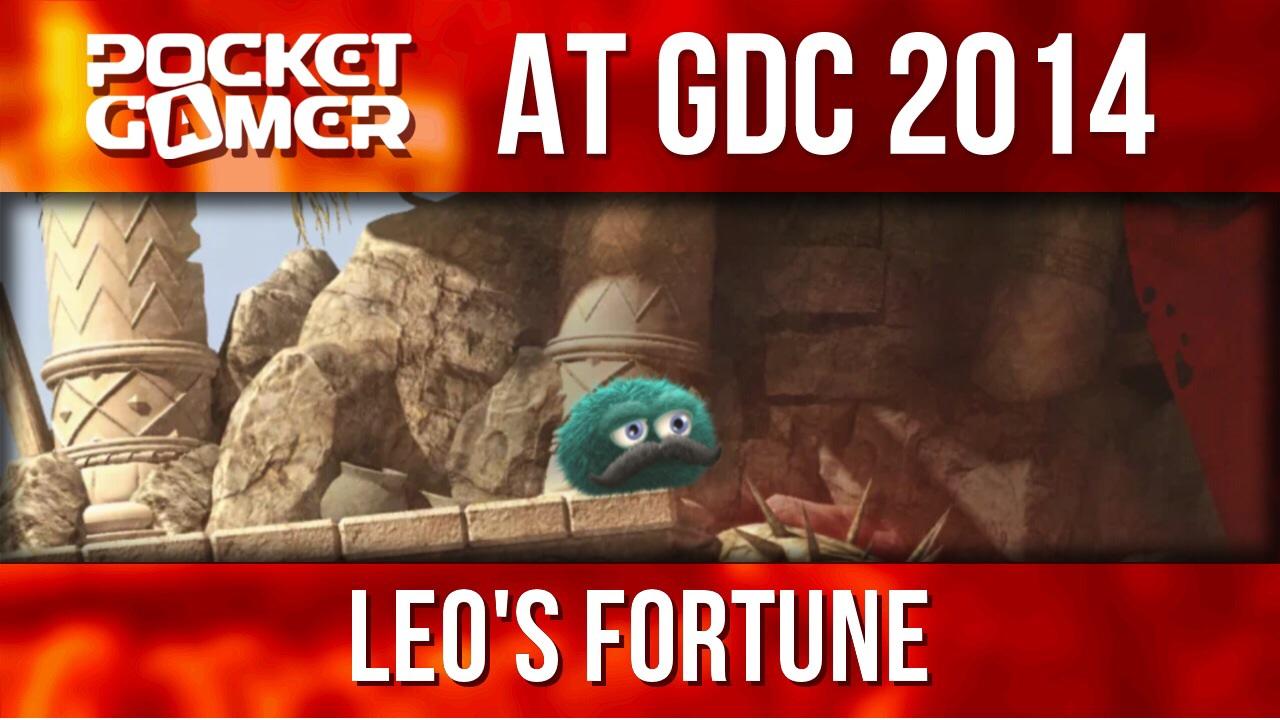 GDC 2014: 1337's new adventure platformer Leo's Fortune is beautiful and strange