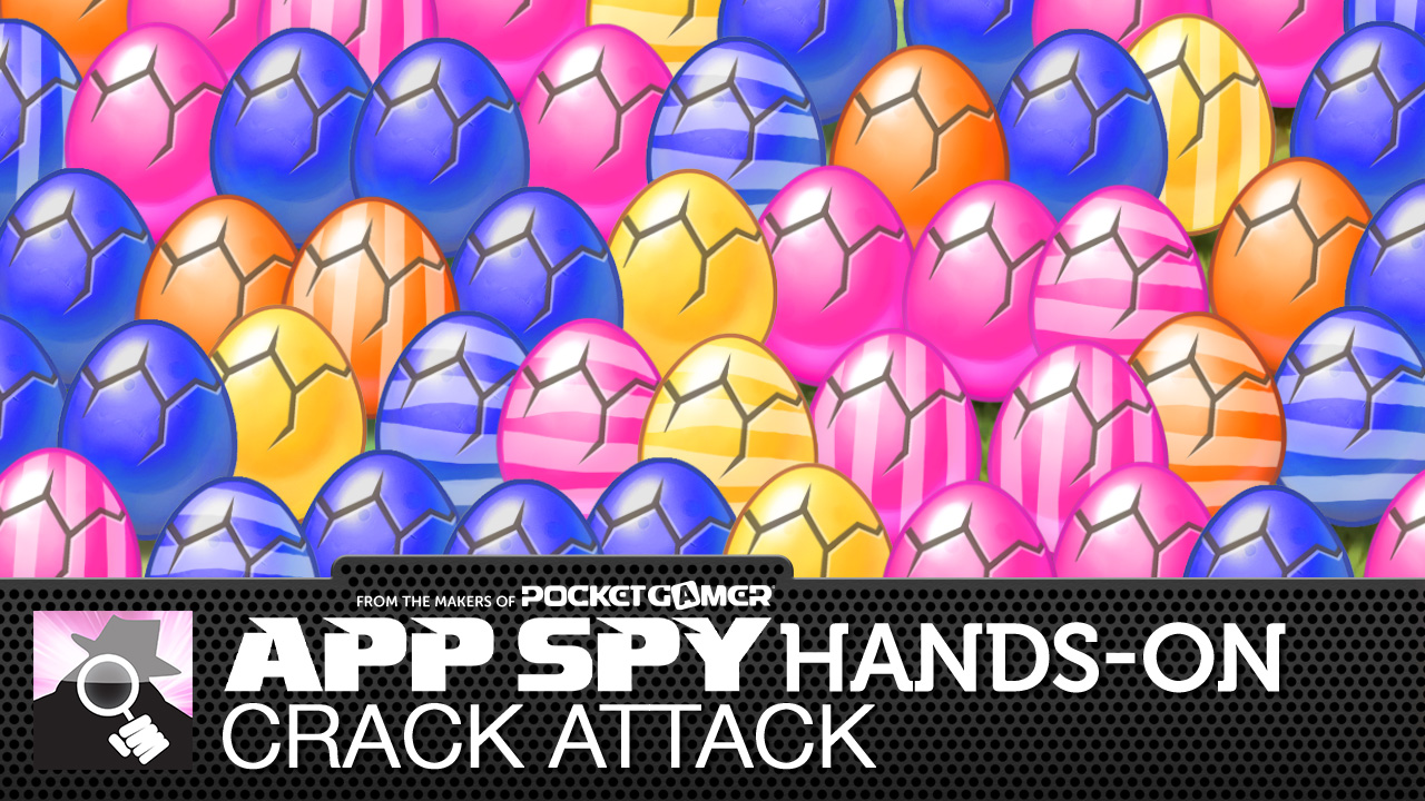 Crack Attack has you tapping eggs to collect woodland creatures