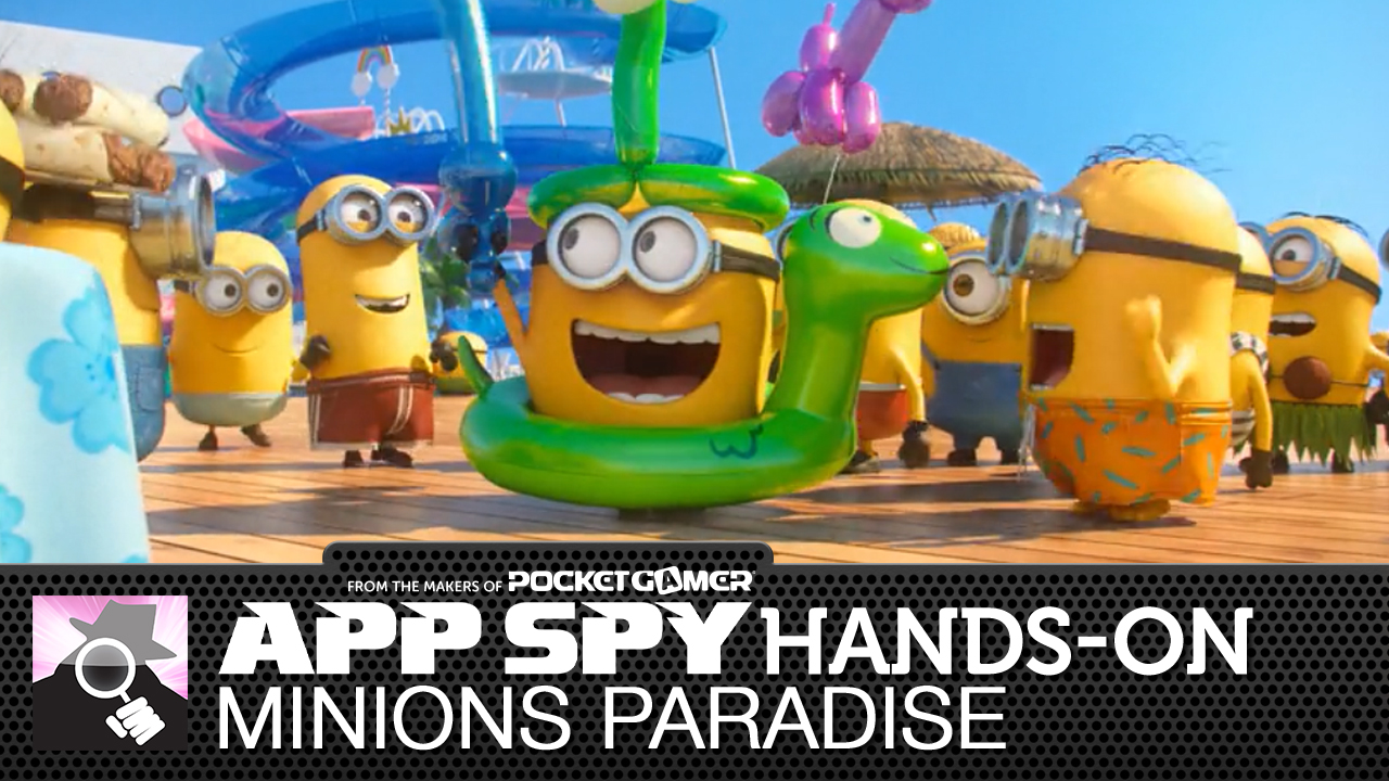 The yellow blighters from Despicable Me are back for Minions Paradise